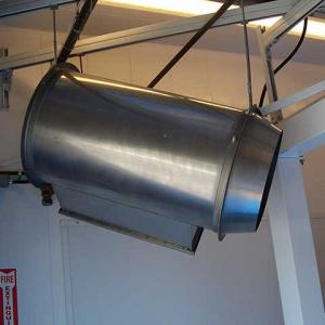 Overhead Door Heater (DoorJet)