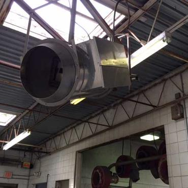 Overhead Door Jet Heater