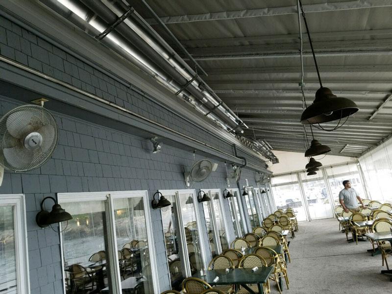 Outdoor Patio Radiant Heaters