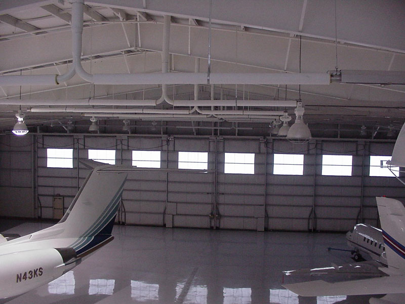 Aircraft Hangar Radiant Heater Solaronics