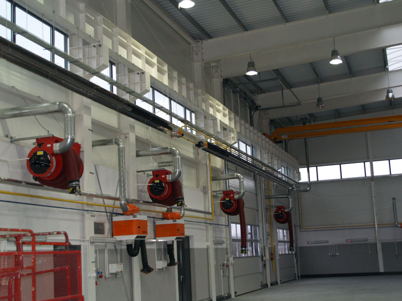 Loading Dock Radiant Heating Infrared Heaters For